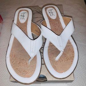 BOC white sandal size 8